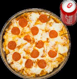 Descuento en Pizzas Exclusivas + Refresco