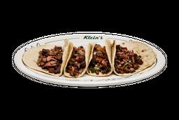 Tacos de Salami Encebollado