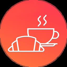 Paquete Cuernito de Jamón con Queso + Café Americano