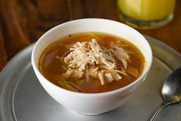 Sopa de tortilla y pollo (240 ml)