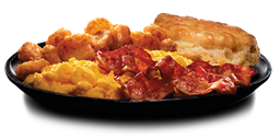 Super Deluxe Breakfast Platter
