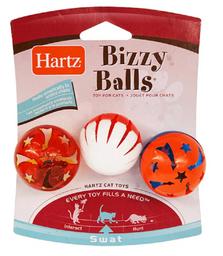 Juguete Para Gato Hartz Bizzy Ball 3 U