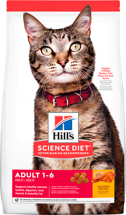 Hills Science Diet - Feline Adult Optimal Care Original 1,8 Kg