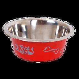 Pelu2 - Tazón De Acero Colores Para Perros Y Gatos