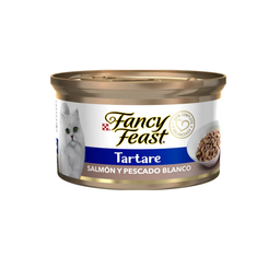 Fancy Feast - Lata Tartare Salmón y Pescado Blanco