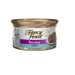 Fancy Feast - Lata Terrine Pavo