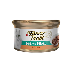 Alimento Para Gato Fancy Feast Lata Petits Filets Pollo 85 g