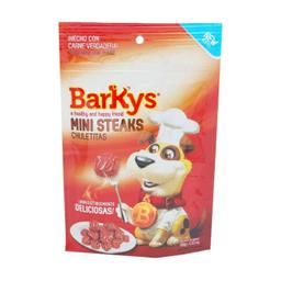 Premio Para Perro Barkys Mini Steaks Chuletitas 100 g