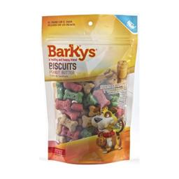 Premio Para Perro Barkys Biscuits Mantequilla de Maní 217 g