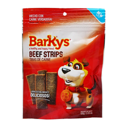 Premio Para Perro Barkys Tiras de Carne Beef Strips