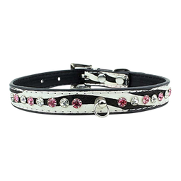 My Dog's Boutique - Collar Zebra y Piedras