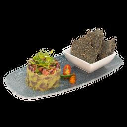 Guacamole Tuna Tataki
