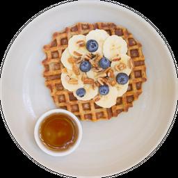 Waffle de Plátano