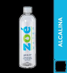 Agua Zoe Alcalina 500 ml