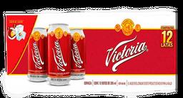Cerveza Victoria Obscura 355 mL Lata x 12