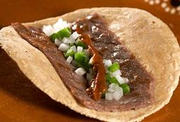 Taco de Cecina de Yecapixtla