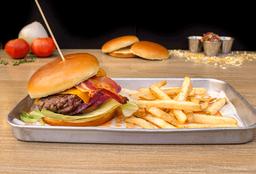 Bacon Cheddar Cheese Burger
