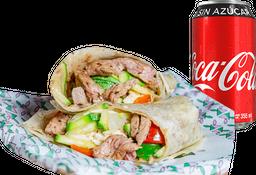 Envío Gratis: Burrito de Arrachera + Coca-Cola Sin Azúcar