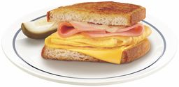 1/2 ham & egg melt