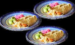 3X2 en Tacos de Pescado! (6 piezas)