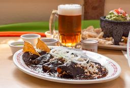 Enchiladas de Mole