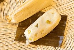 Tamal de Calabaza con Queso