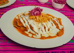 Chilaquiles Chicos Boxita Pibil