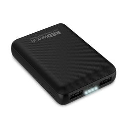 Power Bank 10,000 mAh Ultra Slim Carga Rápida (2.1A) / Negro.