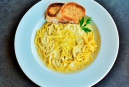 Spaguetti 4 Quesos