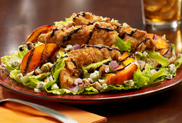 Fire Kissed Peach & Country Chicken Salad