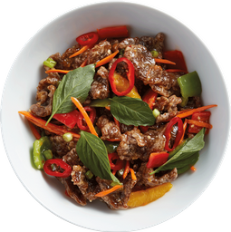 Chili Basil Orange Beef