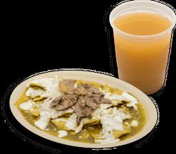 Chilaquiles + Bebida GRATIS