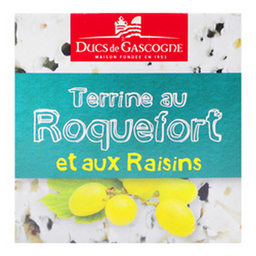 Terrina Con Queso Roquefort Y Uva 65 Grs