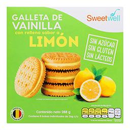 Galletas Sandwich Vainilla Limon Sin Azu 288 Grs