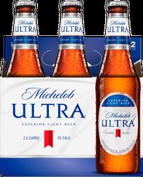 Cerveza Six Pack Michelob Ultra 355 Ml.