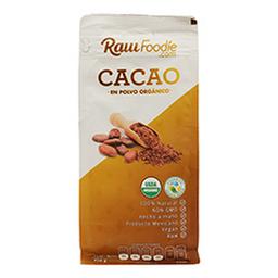 Cacao en Polvo Raw Foodie Orgánico 450 g
