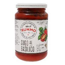 Salsa De Tomate Con Albahaca 350 Grs