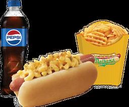 Combo Mac & Cheese Dog