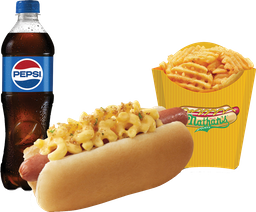 Combo Mac & Cheese Dog