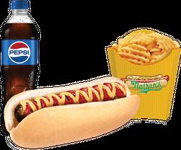 Combo American Burger Dog