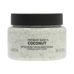 Coconut Exfoliating Cream Body Scrub, 8.4 Oz