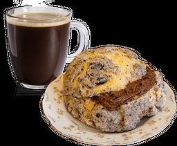 Bomba Dulce + Café Americano