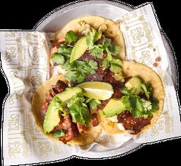 Tacos Camarón con Queso