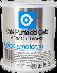 Lata Molido de Café Americano