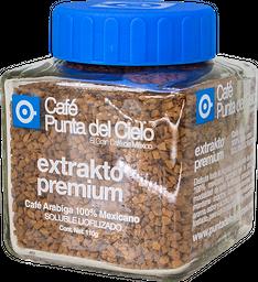 Frasco Café Liofilizado Soluble Extrakto