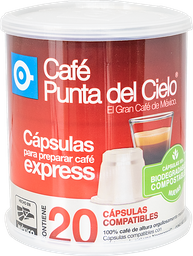 Lata Capsulas Express Regular