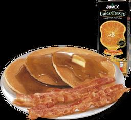 Pancakes Platter + Jugo o Café