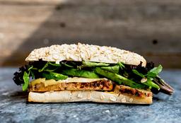Sándwich de Jamón de Pavo con Panela