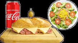 Panini Catalán + Ensalada + Refresco