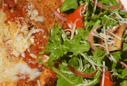 Milanesa de Filete de Res a la Parmesana